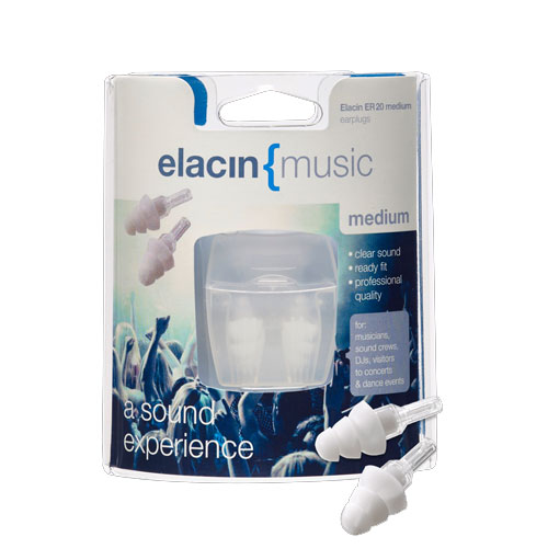 Elacin ER20 Medium Filter oordopjes